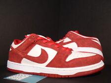 2014 Nike Dunk Low Premium SB VALENTINE'S DAY UNIVERSITY RED WHITE 313170-662 10