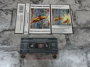 THE STONE ROSES What The World Is Waiting For / Fools Gold Cassette Single /2804