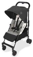Maclaren Baby Quest ARC Lightweight Umbrella Fold Stroller Railroad Stripe NEW