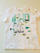 ESPRIT - cooles Shirt in weiß mit Print - NEU Gr 92 98 317m