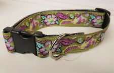 New With Tags - Stylish Dog Collar (Squirrel/flower design) L/Xl