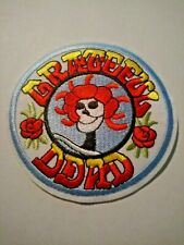 """US SELLER!!!   GRATEFUL DEAD ~ IRON ON PATCH   3"""" x 3""""  ~ROCK BAND~ NEW!"""
