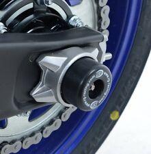 Yamaha MT-07 MT07 2014-2017 R&G racing black swingarm protectors bobbins