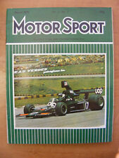 Motor Sport Magazine F1 Sports Road & Historic Cars Issue March 1975 Classic Car