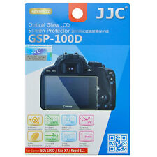 JJC GSP-100D Optical GLASS LCD Screen Protector Film for Canon 100D SL1 Kiss X7