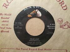 BARRY DE VORZON - False Love / Raindrops On My Window    RCA - 45rpm  Teen Pop