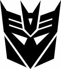 transformers decepticon vinyl decal sticker