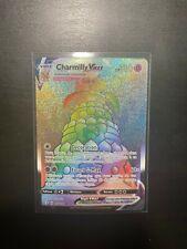 Carte Pokemon - JCC - Charmilly VMAX Rainbow - 073/072 - Neuf - Français