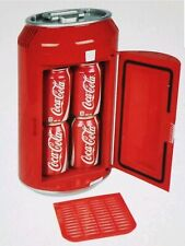 Coca Cola Mini 8 Can Fridge Refrigerator Coke Collectable Cooler 12VDC or 110AC