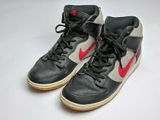 2013 Nike Dunk High Pro SB 11US  305050 black university red 45EUR  29cm