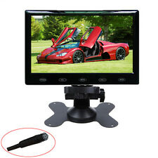 HD Ultra Thin 7 Inch 800x480 TFT LCD Color Audio HDMI VGA Car Rear View Monitor