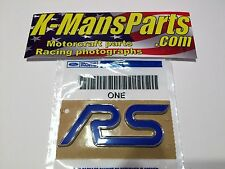 Ford Focus RS emblem badge rear OEM new