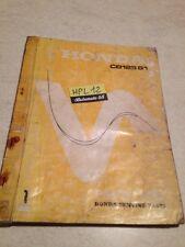 Honda CB125S1 CB125 S1 CB 125 parts list liste catalogue pièce détachée 1974