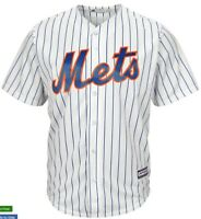 NEW Majestic MLB New York METS Stitched COOL BASE Jersey SIZE XL