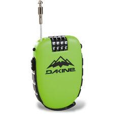 Dakine Cool Lock Ski Snowboard Retractable Personal Combination Cable Lock Green