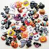 Mix Lots Halloween Pumpkin Resin Flatback Button  Scrapbook Diy Craft Phonecover