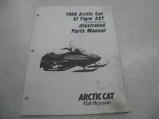 Arctic Cat 1989 El Tigre EXT Snowmobile Illustrated Parts Manual