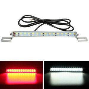 2X Car Dual Color  30 LED Stop Brake License Plate Light Lamp Backup Red White