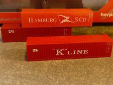 1/120 TT Set 3 x 40 ft. boxcontainer Hamburg Sud/K-Line/CAI 066730
