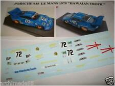 "PORSCHE 935 LE MANS 1979 ""HAWAIAN TROPIC N.72 DECAL 1/43"