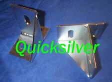 1969 1/2 Plymouth Road Runner A12 Six Pack Hood Pin Mounting Bracket Set