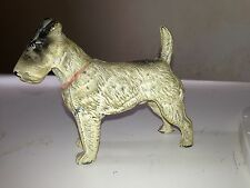 spelter airedale terrier .early 1900s