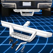 """Polished Chrome 32.5""""x 2.25""""Trailer Tow Hitch Step Pedal+Pin&Clip fit 2""""Receiver"""