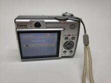 Canon PowerShot A560 7.1MP Digital Camera - Silver Tested, works. No memory card