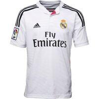 Real Madrid Home Shirt XL Mens 100% Official Adidas Shirt 2014-15 Brand New