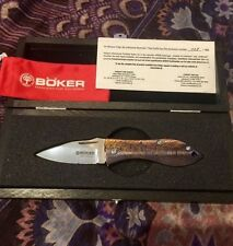 BOKER KNIFE SPECIAL RUN THORN MOKUTI LIMITED EDITION #138/199 COLLECTORS PIECE