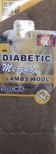 Unisex Long Thick Warm DIABETIC Thermal Merino Lamb Wool Blend Socks UK 6-11