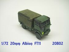 Anyscale modèles 20mm british albion FT11 camion