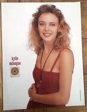 More details for kylie 'red dress'  magazine photo/poster/clipping 11x8 inches