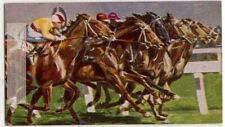Melbourne Cup Thoroughbred Horse Race Racing 1930s Trade Card