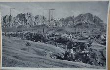 CORTINA PAESE VALLE VIAGGIATA 1936 ANNULLO CAMPIONATI MONDIALI BOB INVERNO K/224