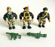 Military Muscle Men Soldiers O.S.F.T.M. Vintage 1993 - Special Forces Set 3