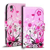 Handy Tasche für Sony Xperia Z1 Hülle PU Leder Motiv Schutzhülle Case
