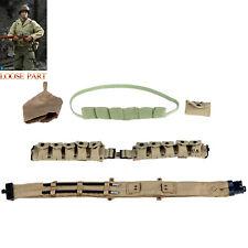 1//6 Scale Toy US Secret Service Special Agent Black Molle Rescue Belt