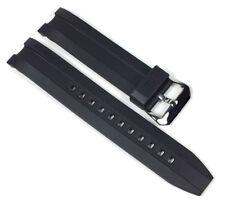 CASIO EDIFICE Correa de Reloj de repuesto Resina Band Negro 22mm para ema-100