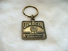 NS- JIM BEAM KENTUCKY BOURBON WHISKY (BRONZE COLOR)   KEY CHAIN #24288