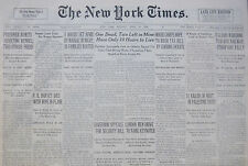 4-1936 April 20 ITALIANS MARCHING TOWARD RAILWAY ETHIOPIANS RALLY. DESSYE Times