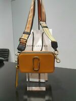 Marc Jacobs Snapshot Small Camera Bag Crossbody Golden Poppy Multi - Authentic