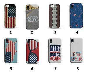 American Phone Case Cover America USA Flag Design Gift United States Stars 8089J
