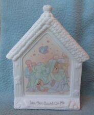 """PRECIOUS MOMENTS YOU CAN COUNT ON ME CHURCH 6"""" FIGURINE Figure Decoration"""
