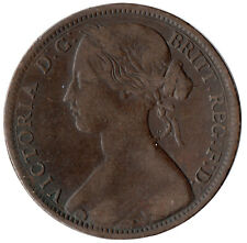 1863 ONE PENNY OF QUEEN VICTORIA /VERY HIGH GRADE       #JAN85