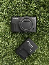 Used Canon PowerShot G7 X Mark II Digital Camera With 1 Canon Battery & Charger