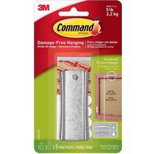 3 M Command 17047 | Sawtooth appiccicoso PER UNGHIE IN METALLO APPENDINO delle foto | detiene 2.3 KG