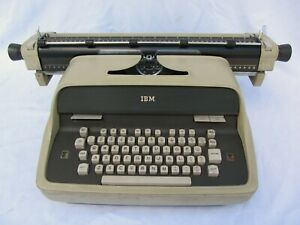 RARE, Working, Vintage IBM Model C Statistical Tabulator Electric Typewriter
