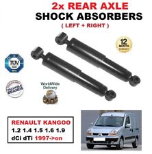 FOR RENAULT KANGOO 1.2 1.4 1.5 1.6 1.9 dCi dTi 1997-> REAR AXLE SHOCK ABSORBERS