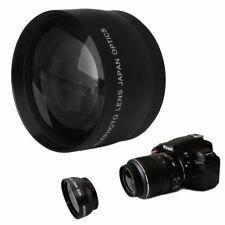 52mm 2 x beschichtet Telefoto Objektiv für Nikon AF-S DX Nikkor 18-55mm 55-200mm